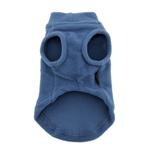View Image 2 of Stretch Fleece Dog Vest by Gooby - Steel Blue
