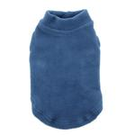 View Image 1 of Stretch Fleece Dog Vest by Gooby - Steel Blue