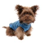 View Image 3 of Stretch Fleece Dog Vest by Gooby - Steel Blue