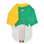 View Image 2 of Striker Soccer Dog Jersey by Puppia - White