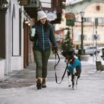 View Image 4 of Stumptown Dog Jacket by RuffWear - Metolius Blue