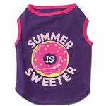 View Image 1 of Summer is Sweeter Dog T-Shirt