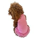 View Image 1 of Summer Sparkle Tutu Dog Dress by The Dog Squad - Fuchsia