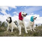 View Image 2 of Summit Snood Dog Neck Gaiter - Red/Gray