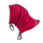 View Image 1 of Summit Snood Dog Neck Gaiter - Red/Gray