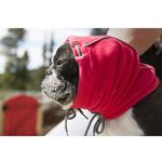View Image 3 of Summit Snood Dog Neck Gaiter - Red/Gray