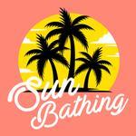 View Image 2 of Sun Bathing Dog Shirt - Coral