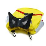 View Image 4 of Super Hero Dog Sweatshirt by Dogo - Yellow