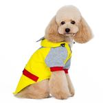 View Image 5 of Super Hero Dog Sweatshirt by Dogo - Yellow