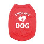 View Image 1 of Therapy Dog Shirt - Red
