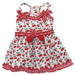 View Image 1 of Sweet Cherries Dog Sun Dress by Klippo