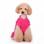 View Image 4 of Sweet Winter Dog Coat by Dogo - Pink
