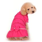 View Image 2 of Sweet Winter Dog Coat by Dogo - Pink