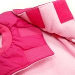 View Image 5 of Sweet Winter Dog Coat by Dogo - Pink
