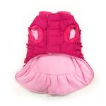 View Image 3 of Sweet Winter Dog Coat by Dogo - Pink