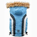 View Image 3 of Swiss Alpine Ski Dog Vest by Hip Doggie - Blue