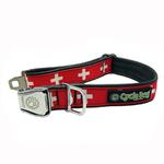View Image 1 of Swiss Metal Latch Dog Collar by Cycle Dog