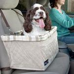 View Image 1 of Solvit Tagalong Deluxe Dog Car Seat Booster by PetSafe - Extra Large