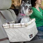 View Image 1 of Solvit Tagalong Deluxe Dog Car Seat Booster by PetSafe - Large