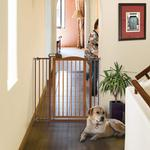View Image 2 of Tall One-Touch Dog Gate II - Autumn Matte