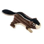 View Image 1 of Tall Tails Chipmunk Dog Toy with Squeaker - 5