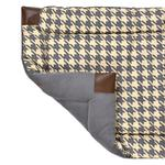 View Image 1 of Tall Tails Fleece Blanket Top Dog Bed - Houndstooth
