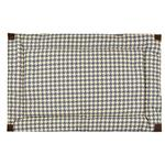 View Image 2 of Tall Tails Fleece Blanket Top Dog Bed - Houndstooth