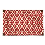 View Image 2 of Tall Tails Fleece Blanket Top Dog Bed - Red Bone
