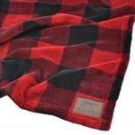 View Image 1 of Tall Tails Fleece Dog Blanket - Hunters Plaid