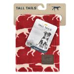 View Image 2 of Tall Tails Iconic Fleece Dog Blanket - Red