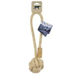 View Image 2 of Tall Tails Natural Cotton and Jute Rope Tug Dog Toy
