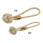 View Image 3 of Tall Tails Natural Cotton and Jute Rope Tug Dog Toy