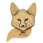 View Image 1 of Tall Tails Natural Leather Dog Toy - Fox