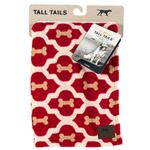 View Image 2 of Tall Tails Red Bone Fleece Dog Blanket