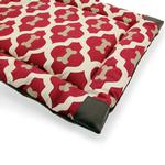 View Image 3 of Tall Tails Velboa Dog Bed - Bone Print