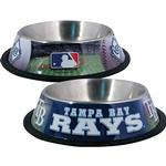 View Image 1 of Tampa Bay Rays Dog Bowl