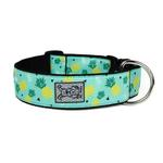 View Image 1 of Pineapple Parade Wide Clip Adjustable Dog Collar