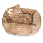 View Image 1 of Teddy Bear Dog Bed by Hello Doggie