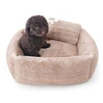 View Image 4 of Teddy Bear Dog Bed by Hello Doggie