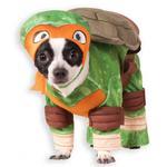 View Image 1 of Teenage Mutant Ninja Turtle Dog Costume - Michelangelo