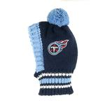 View Image 1 of Tennessee Titans Knit Dog Hat
