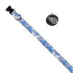 View Image 1 of Tennessee Titans Team Camo Dog Collar and Tag by Yellow Dog
