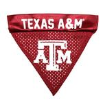 View Image 1 of Texas A&M Dog Bandana Collar Slider