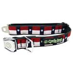View Image 1 of Texas Metal Latch Dog Collar by Cycle Dog