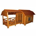 View Image 1 of The Barn Large Outdoor Dog House