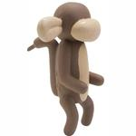View Image 1 of The Charming Balloon Collection Dog Toy - Murray the Monkey