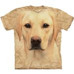 View Image 1 of The Mountain Human T-Shirt - Yellow Lab Face
