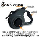 View Image 3 of ThunderLeash Dial-A-Distance Retractable Dog Leash