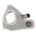 View Image 4 of Tia Step-In Cat Harness by Catspia - Melange Gray
