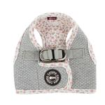 View Image 1 of Tia Step-In Cat Harness by Catspia - Melange Gray